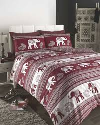 empire indian inspired elephant duvet cover set