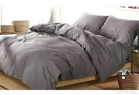 light gray duvet covers incredible linen home washed cotton cover set dark grey for stripe twin