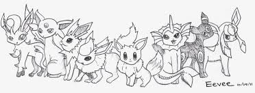 Small Picture Free Pokemon Eevee Evolutions Coloring Pages For 17 Best Ideas