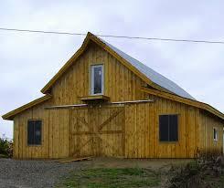 traditional post and beam barn home kit