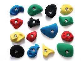 climbing holds on artificial rock climbing wall cost with climbing holds rosstraining