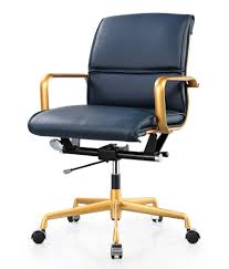 Office Chair Leather Office Chair In Vegan Leather Color Options