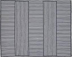 indoor outdoor rug navy stripe rugs 5x7 blue