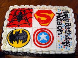 superhero sheet cake superhero 1 4 sheet cake my cakes pinterest cake cake designs