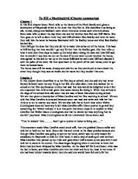 to kill a mockingbird chapter summaries gcse english marked  page 1 zoom in