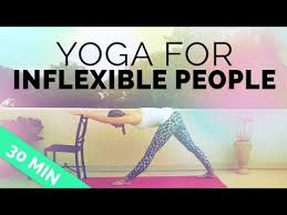 inflexible people. yoga for inflexible people | sequence stiff muscles, aches \u0026 pains 30-min session s