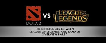 the differences between lol and dota 2 overview part 1