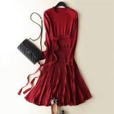 <b>LHZSYY</b> New <b>Autumn</b> Winter Women <b>Cashmere Sweater</b> Dress O ...