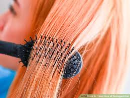 image titled take care of damaged hair step 1