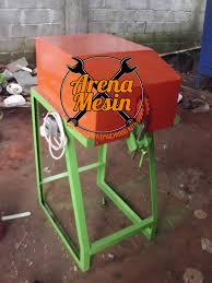Hasil gambar untuk mesin pengupas sabut kelapa arena mesin