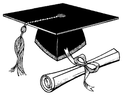 graduation cap and diploma clipart black white com graduation cap and diploma clipart black white