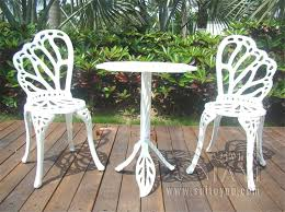 white metal patio chairs. Design Lovely White Metal Outdoor Furniture Of Patio Chairs W