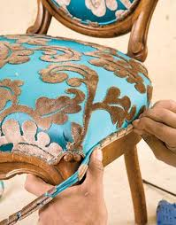 how to reupholster dining room chairs do it yourself furniture reupholstery country living slide 4