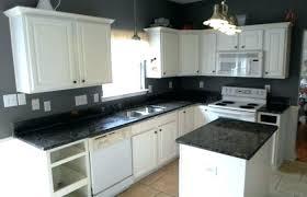 dark cabinets white countertops kitchen decoration medium size black cabinets white granite inspiring kitchens galaxy ice