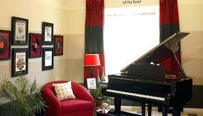 Music Home Decor Home Music Room Decorating Ideas Sintowin