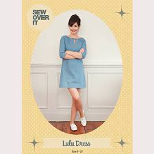 Dress Sewing Patterns Gorgeous Sew Over It Lulu Dress Sewing Pattern Sew Over It Online Fabric Shop