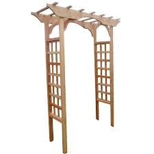 garden arbor lowes. California Home \u0026 Garden 64-in W X 88-in H Water-Base Arbor Lowes N
