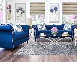 amazing of blue living room furniture royal blue living room