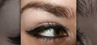 how to do rihanna angelina jolie cat eyeliner eye makeup makeup wonderhowto