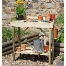 economy garden potting table