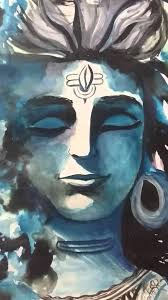lord shiva art work by shaily verma