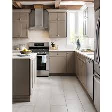 Porcelain Tile For Kitchen Floor Shop Style Selections Leonia Silver Glazed Porcelain Indoor