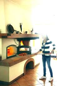 door kitchen pizza oven outdoor built in