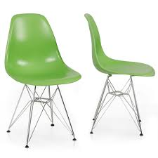 x style dsw modern eiffel side chair molded abs plastic chairs