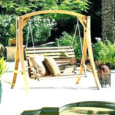 outdoor swing bed s hanging diy cushions