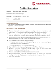 Collection Of Solutions Car Salesman Job Description Resume Sample