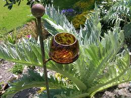 outdoor candle holders garden candle