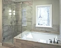 bathtub shower replacement to conversion cost large replace with stall options awesome bathroom remodel by glass en