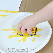 Back to School Process Art for Kids | Still Playing School