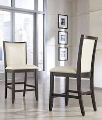 sku d550 324 contemporary pub chair square upholstered seat and back dining furnituredining rooms