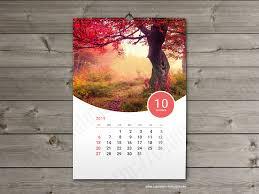 Best 2019 Calendar Design 2019 Wall Calendar Kw13 W15 Template