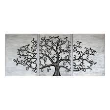 3d wall art life tree aluminium set of 3 by inuni on thehome  on 3d wall art life tree with 3d wall art life tree aluminium set of 3 by inuni on thehome com