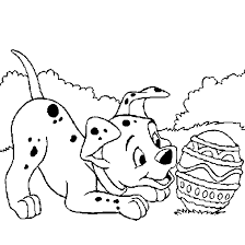 Small Picture Cute Little Dalmatian Coloring Pages Animal pages of