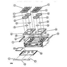 viking range corp 36 and 48 gas range parts model vgss48 burner