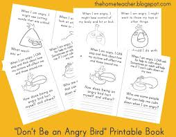 Don't Be An Angry Bird: Free Printables - The Home Teacher