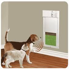 px 1 power pet door world s most popular fully automatic motor driven door size medium