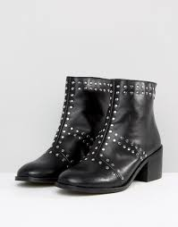 Studded Boots Designer Depp Leather Stud Boot Studded Boot Design Ideas Shoe