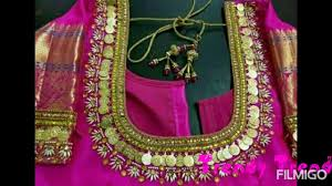 Lakshmi Rupu Blouse Designs Lakshmi Rupu Maggam Work Blouse Designs