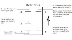 4 pin led rocker switch wiring diagram wiring diagrams 5 pin lighted rocker switch wiring diagram and