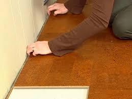 installing natural cork flooring
