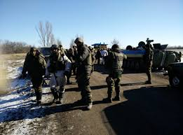 a long awaited exchange between ukraine and the self appointed donb republics happened before the new year it included people dened by the