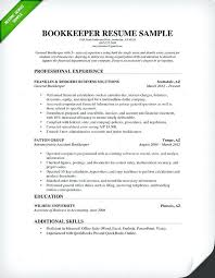 Sample Bookkeeper Resume Best of Accounting Job Resume Sample Bookkeeper Resume Sample Amp Guide