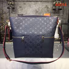 louis vuitton melie designer monogram leather handbag lv m44014 blue