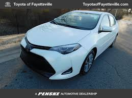 2017 Used Toyota Corolla XLE CVT Automatic at Toyota of ...