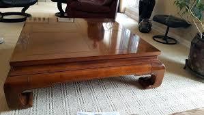henredon end table coffee table henredon table