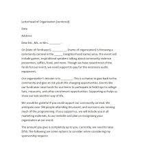 Cover Letter Sponsorship 40 Sponsorship Letter Sponsorship Proposal Templates